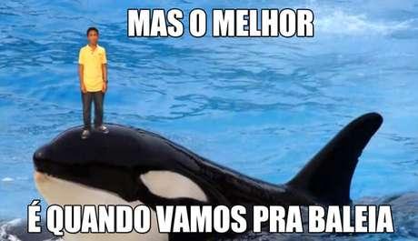 A praia da Baleia, no litoral norte de São Paulo, ganhou repercussão com o meme do Nissim Ourfali
