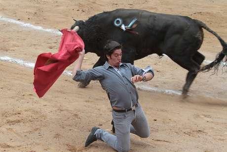 Lo más destacado fue el gran salto que dio al ruedo desde las primeras filas, como espontáneo, el novillero leonés Adrián Padilla, en la salida del quinto ejemplar.