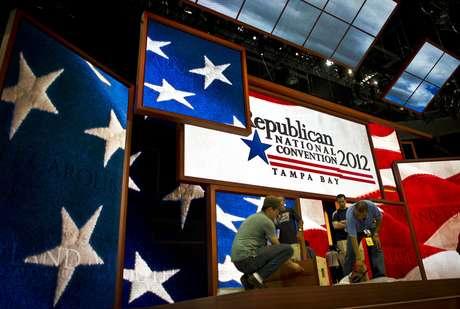 Todo está listo en Tampa para el inicio, mañana, de la Convención Republicana.