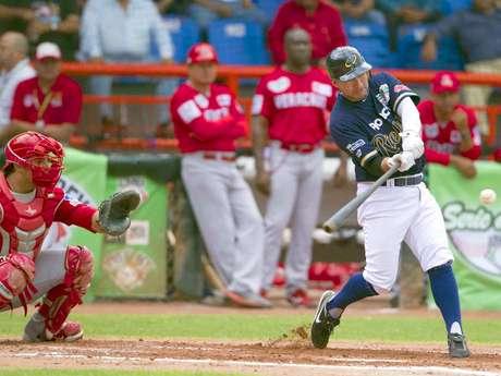 <p>Rojos del Águila y Rieleros dieron un gran juego en la final de la Liga Mexicana de Beisbol 2012</p>