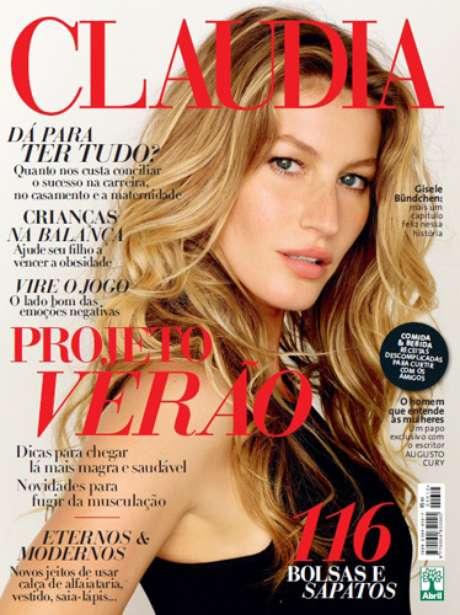 A top estrela a capa da edição de setembro da revista