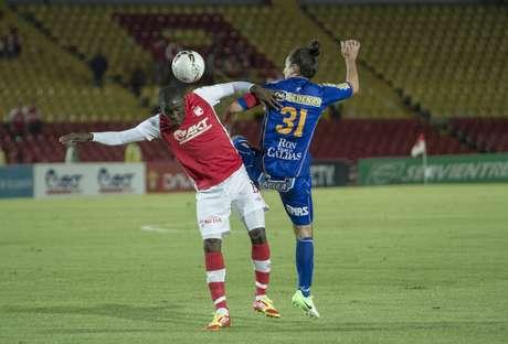 Borja debutó con Santa Fe