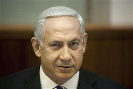 Imagen de archivo del primer ministro israelí, Benjamin Netanyahu, durante su reunión semanal de gabinete en Jerusalén, ago 26 2012. El primer ministro israelí, Benjamin Netanyahu, dijo el jueves que hablará sobre los peligros del programa nuclear iraní en una presentación el próximo mes ante la Asamblea General de Naciones Unidas en Nueva York.