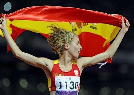 Elena Congost, plata en los 1.500