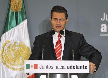 El presidente electo de México, Enrique Peña Nieto