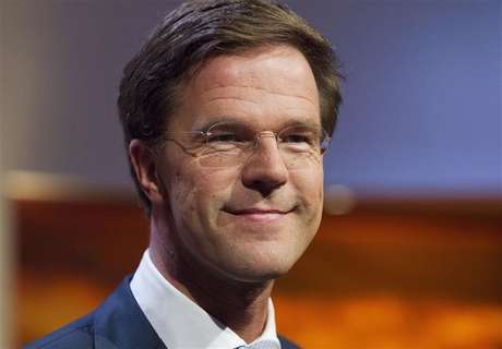 Dutch Prime Minister and Dutch Liberal Party leader Mark Rutte smiles during a political debate in Hilversum August 30, 2012.