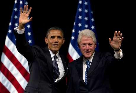 Barack Obama y Bill Clinton harán campaña juntos en los dos próximos meses.