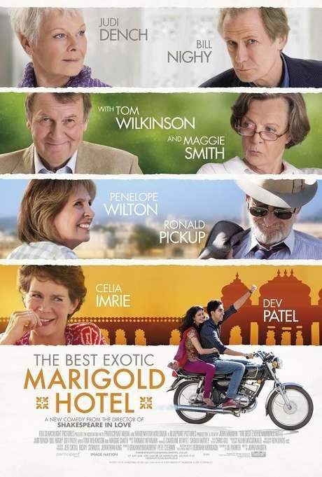 El exótico Hotel Marigold.