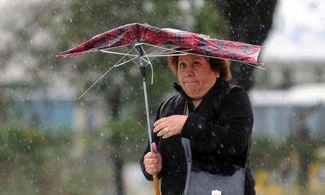 Las lluvias serán ocasionadas por la tormenta tropical Kristy.