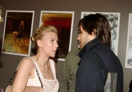 Scarlett Johansson y Jared Leto.
