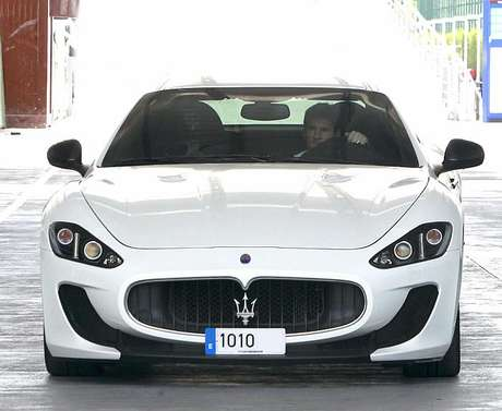 This Maserati Gran Turismo is the new 'toy' of the Barcelona star.