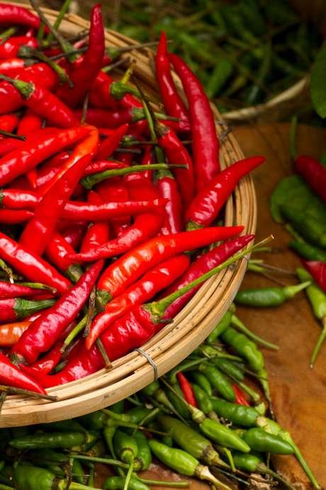 Chili: el compuesto responsable del ardor, llamado capsaicina, puede combatir la diabetes, cáncer y favorecer la pérdida de peso.