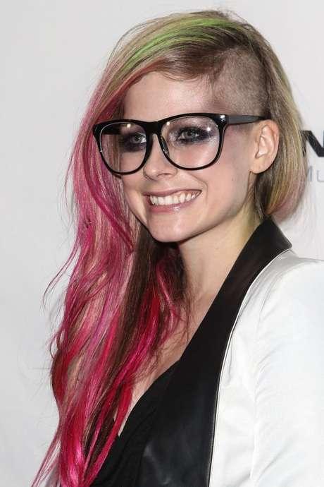 Avril Lavigne y su nuevo look