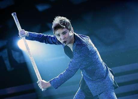 Junsu Xia, la mega estrellad del K-Pop, se presentó en Teatro Caupolicán