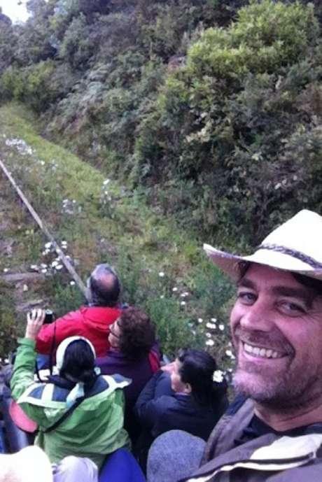 En Colombia disfrutando de la sabana.
