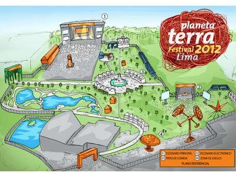 Así lucirá el Parque de la Exposición el sábado 13 de octubre, durante el Planeta Terra Festival Lima.