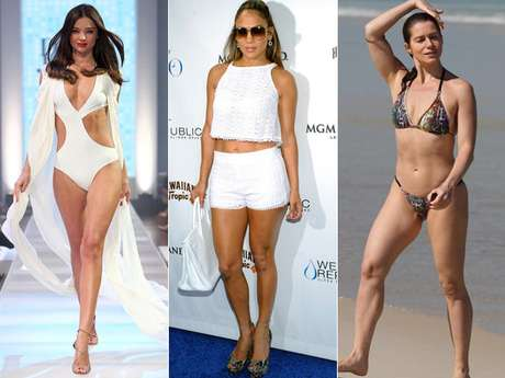As celebridades se dedicam antes, durante e depois da gravidez a manter a boa forma