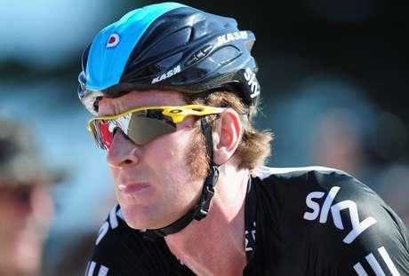 El ciclista británico Bradley Wiggins, campeón del Tour de Francia 2012