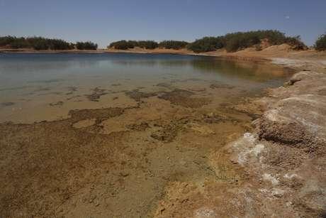 Ghadames, na Líbia já registrou temperaturas de 55°C