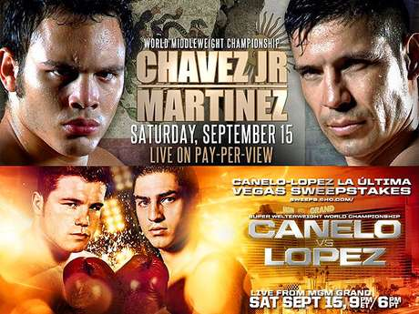 Una noche de boxeo mexicano en Las Vegas este 15 de septiembre del 2012