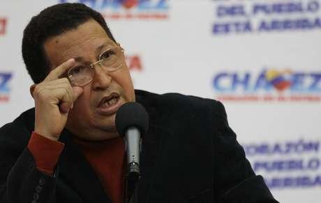 """Chávez advirtió a la oposición que """"no se les ocurra tratar de desestabilizar al país"""" y les auguró el fracaso de intentar un """"plan B""""."""