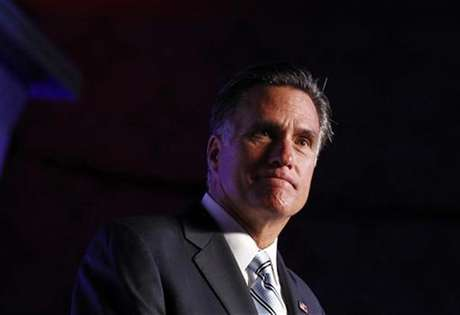 U.S. Republican presidential nominee and former Massachusetts Governor Mitt Romney addresses the U.S. Hispanic Chamber of Commerce in Los Angeles, California, September 17, 2012.