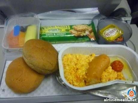 Os passageiros do site AirlineMeals postam fotos e comentam os desastres culinários que enfrentam nos aviões