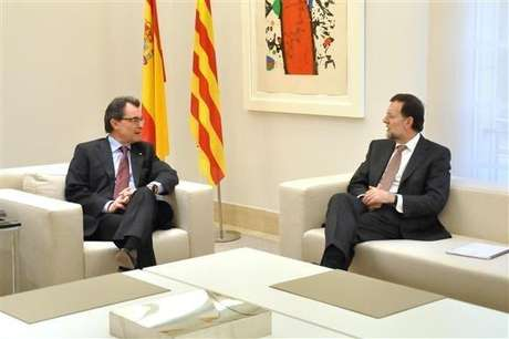 Mariano Rajoy y Artur Mas, en su última reunión.