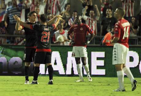 El Atlético goleó al club de Tel Aviv por 3-0