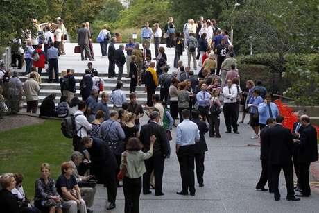 Cientos de personas fueron evacuadas del edificio en pleno centro de Pittsburgh, Pennsylvania.