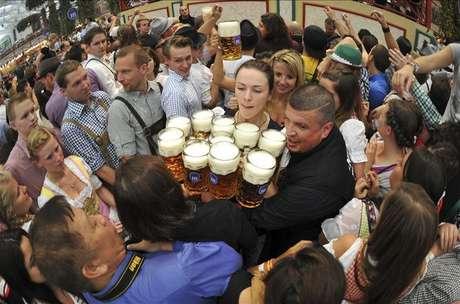 Arranca la Oktoberfest de Múnich, la fiesta cervecera más tradicional y popular del mundo