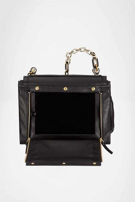 Este es el diseño del bolso.