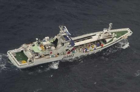 El Horiei Maru, de 119 toneladas.