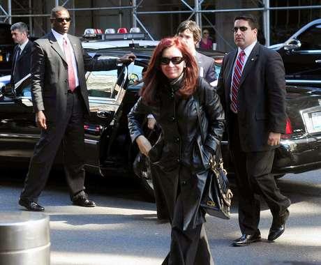 La jefa de Estado arribó este domingo a Nueva York, donde mañana, martes, expondrá ante la ONU.