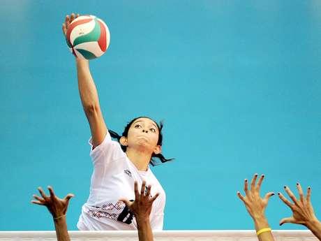 Samantha Bricio, voleibolista mexicana de la Universidad del Sur de California