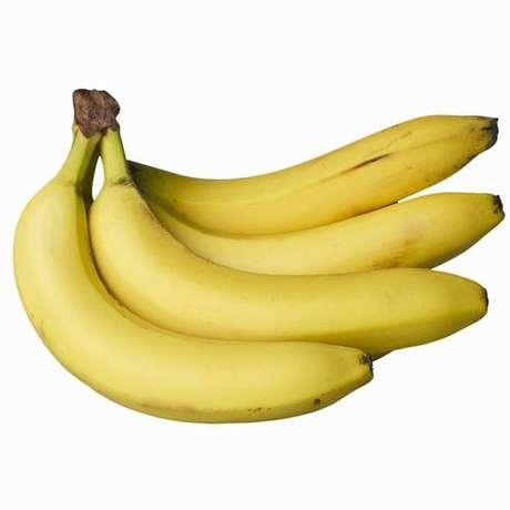 A banana é conhecida por ser rica em potássio