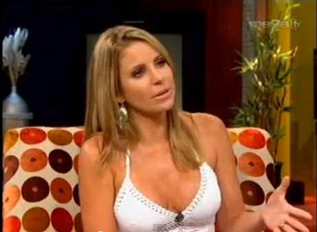 La presentadora de Mega TV, María Alejandra Requena, dice que los venezolanos en Miami harán lo que sea para votar con el fin de defender la democracia.