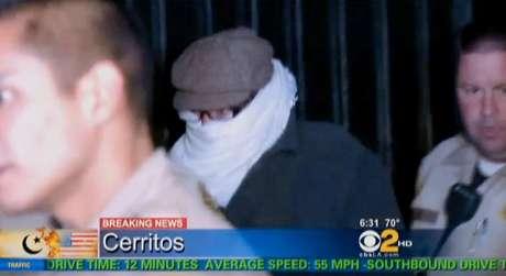 """En esta fotografía de archivo, tomada de un video el 15 de septiembre de 2012, y provista por la televisora CBS2-KCAL9, se ve a Nakoula Basseley Nakoula, el hombre detrás de la producción del video """"La Inocencia de los Musulmanes""""."""