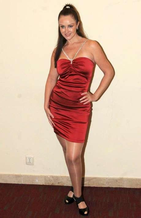 Marisol Santacruz por fin se convenció de posar al natural para la ...