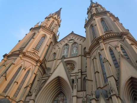 Igreja é destaque da cidade Santa Cruz do Sul (RS)