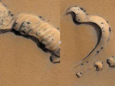 Difunden imágenes de objetos extraños en Marte