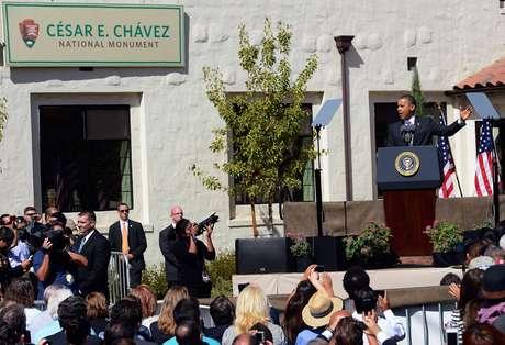 """Una propiedad ubicada en Keene conocida como """"La Paz"""" se convirtió este lunes por decreto presidencial en el """"Monumento Nacional César Chávez""""."""
