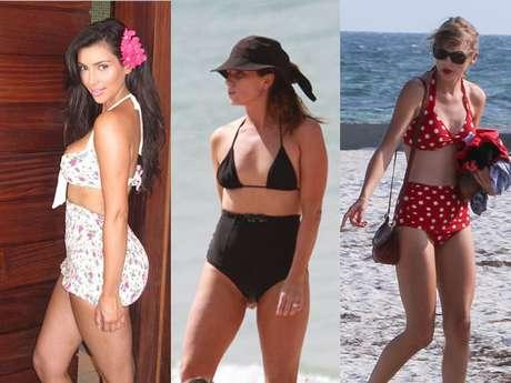 Kim Kardashian, Giovanna Antonelli e Taylor Swift aderiram à moda