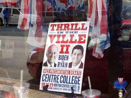 El debate será a esta noche, en Danville, Kentucky.