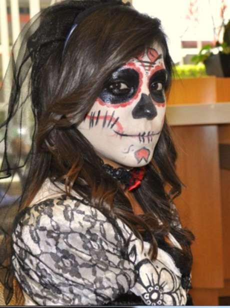 Maquillaje de la Catrina para el Día de Muertos