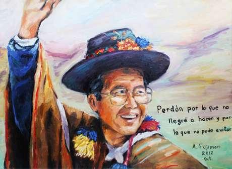 Retrato de Fujimori