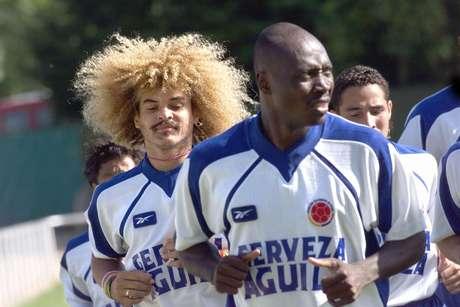 Rincón, histórico de la selección Colombia.