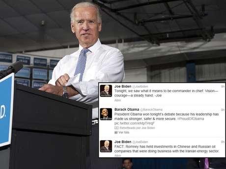 """""""Esta noche, vimos lo que significa ser comandante en jefe"""", dijo en su cuenta de Twitter Joe Biden, el candidado a VP de la mano del presidente Barack Obama."""