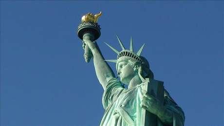La Estatua de la Libertad reabre mañana su corona tras un año de restauración