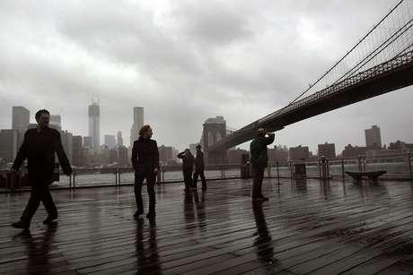 Brooklyn, antes de la tormenta, con una tensa calma.